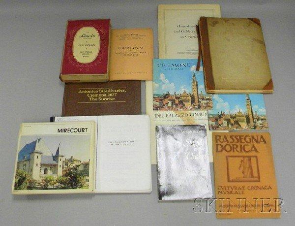 514: Thirteen Books of Violin Related Literature.