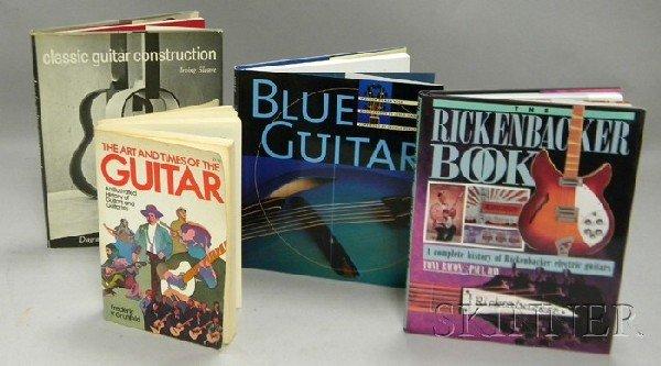 515: Four Guitar Related Books.