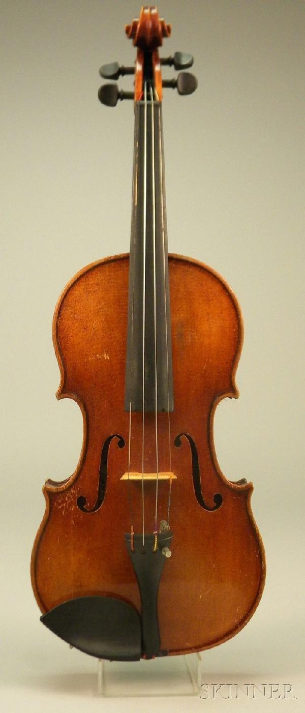 520: German Violin, c. 1960, 360 mm.