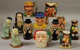 833: Twelve Assorted Royal Doulton Ceramic Character Ju