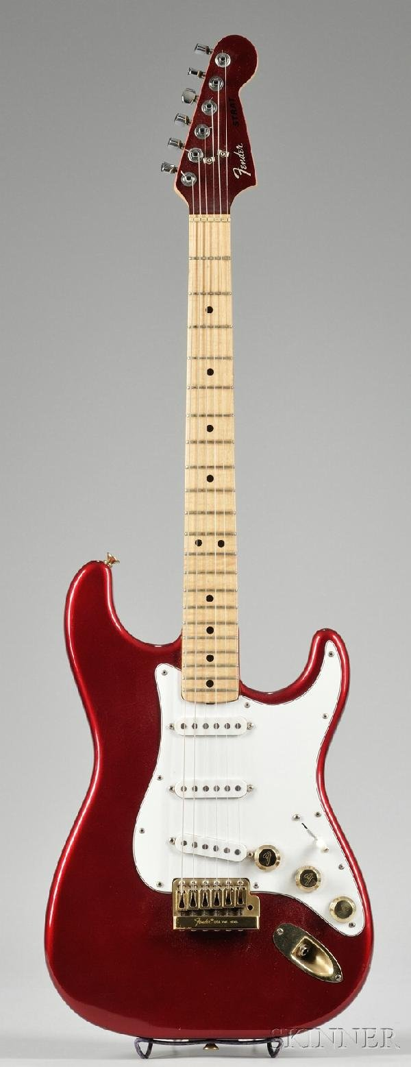 15: American Electric Guitar, Fender Musical Instrument