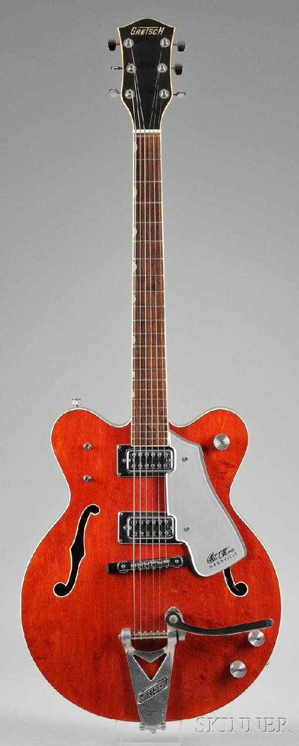 21: American Electric Guitar, Gretsch Company, c. 1972,