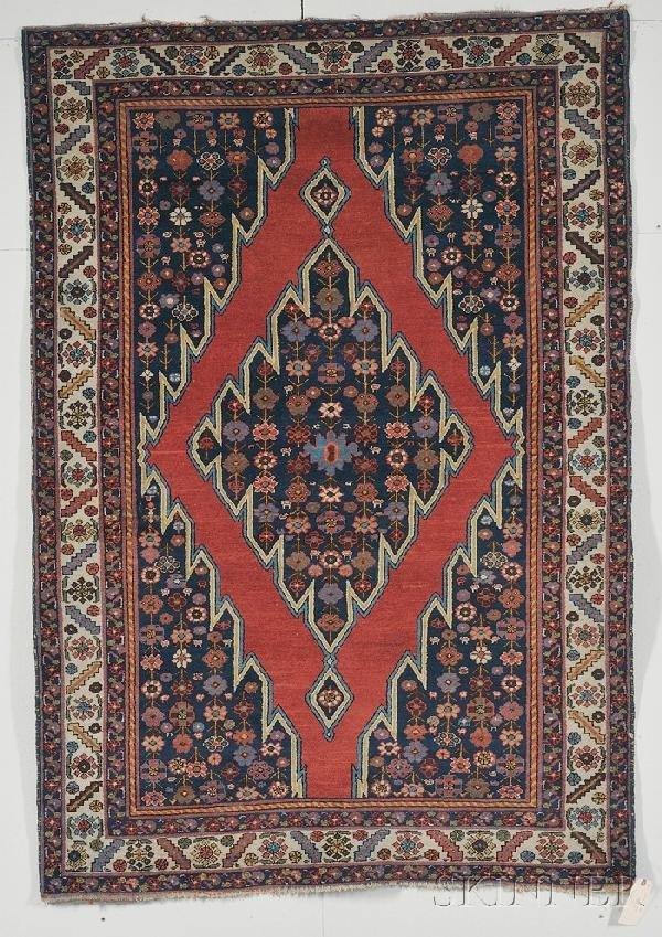 13: Maslinghan Rug, Northwest Persia, early 20th centur