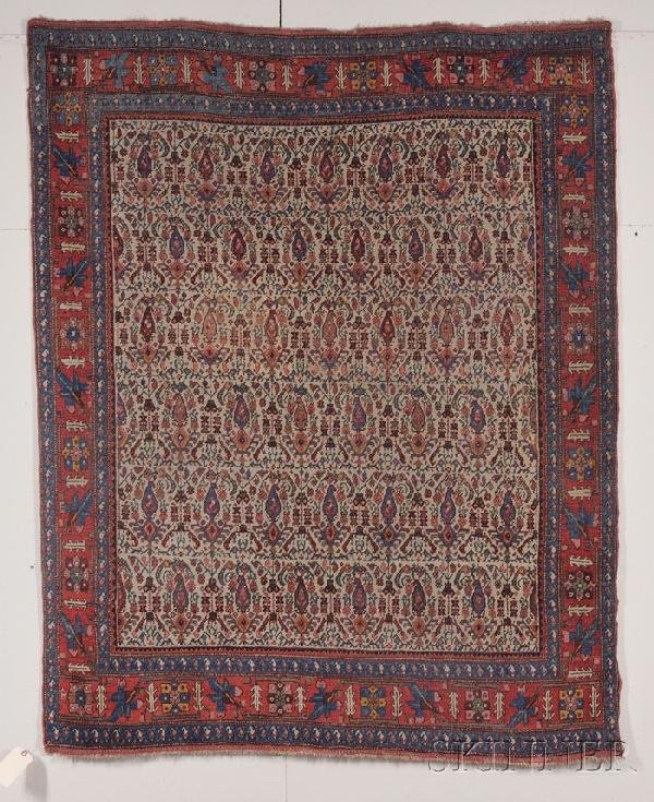 15: Northwest Persian Rug, early 20th century, (even we