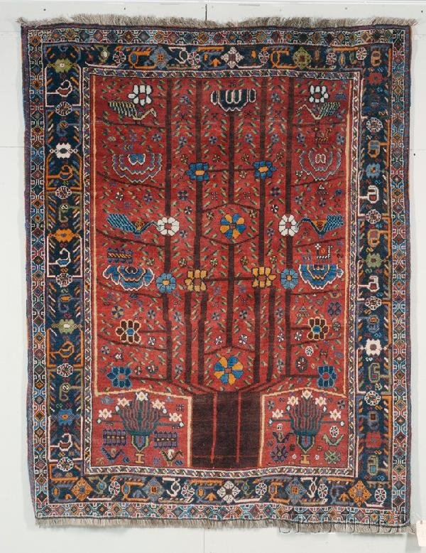 19: Neriz Rug, Southwest Persia, early 20th century, (l