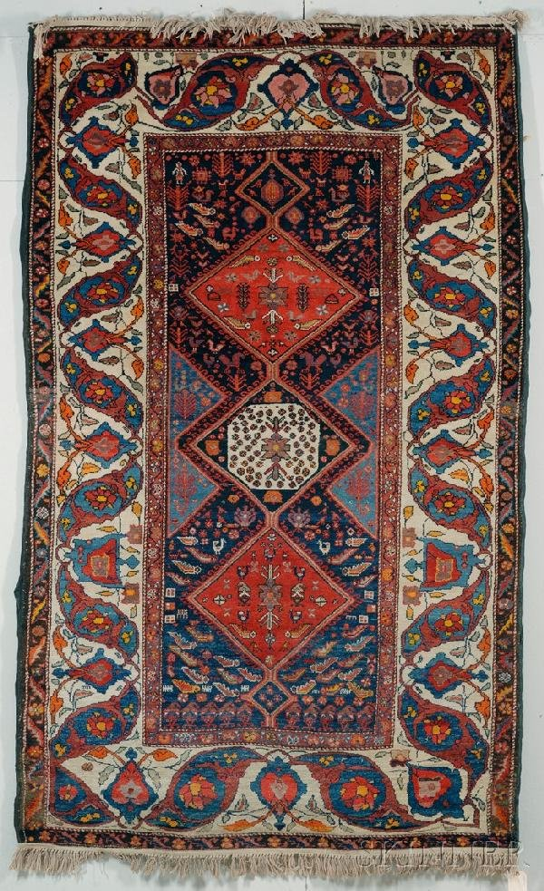 20: Bahktiari Rug, West Persia, early 20th century, (sm