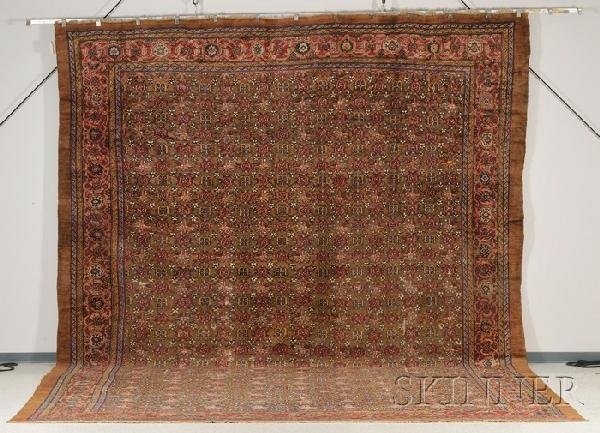 23: Northwest Persian Carpet, late 19th century, (small