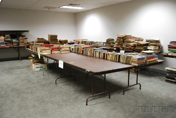 5: Large and Varied Lot of Books, Manuscripts and Paper