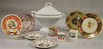 1098: Twelve Pieces of Assorted Mostly English Decorate