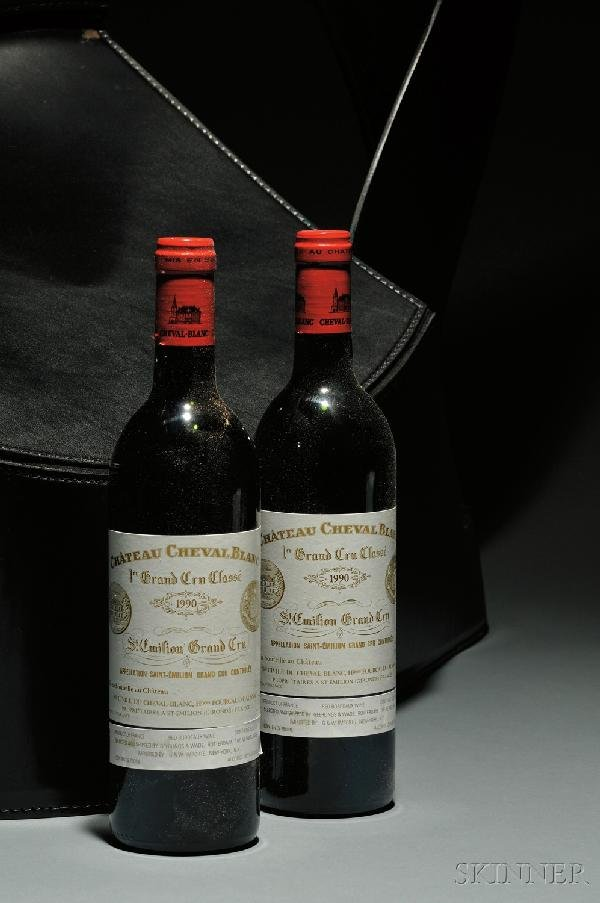 1: Chateau Cheval Blanc 1990 St. Emilion, 1er Grand Cru