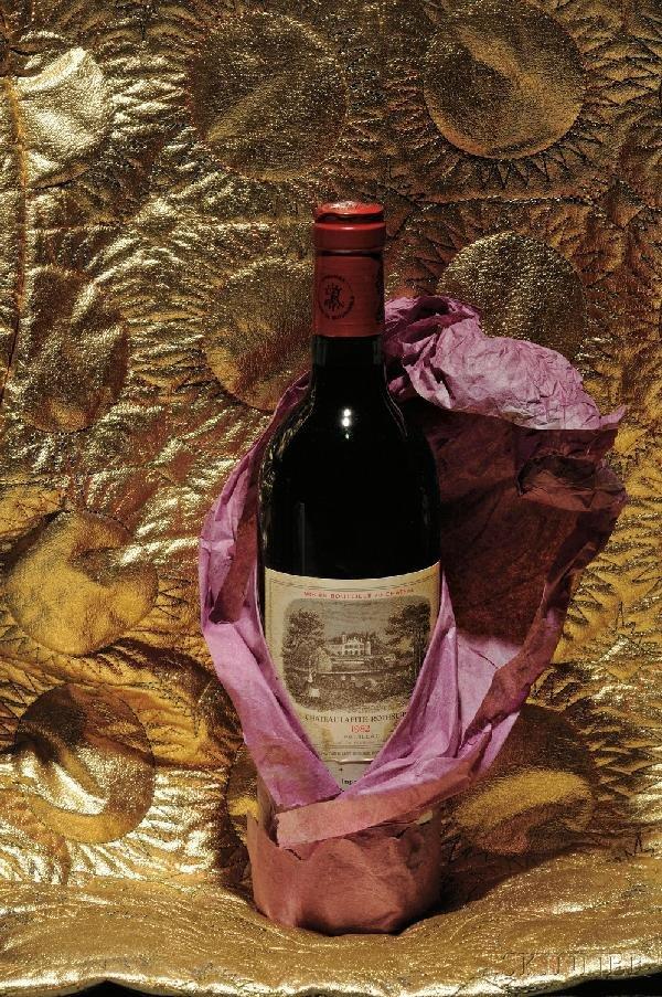 297: Chateau Lafite Rothschild 1982 Pauillac, 1er Cru C
