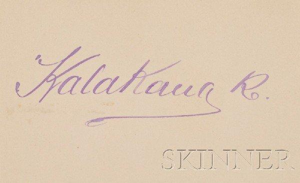 6: (Autograph Album, 19th Century), Collection of autog