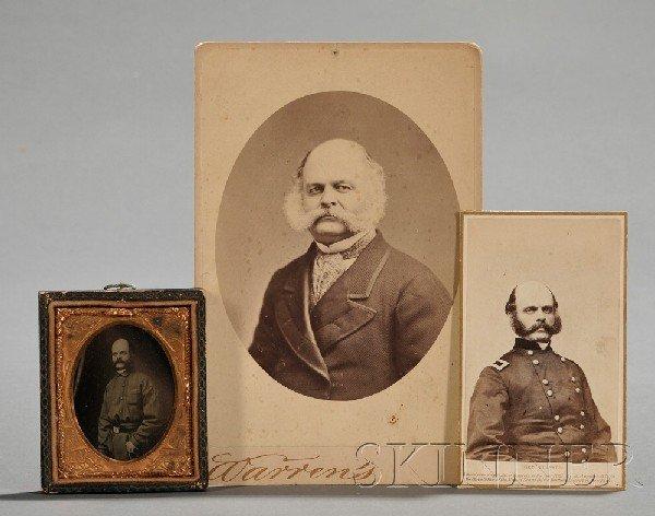 13: Burnside, Ambrose E. (1824-1881), Five photographic