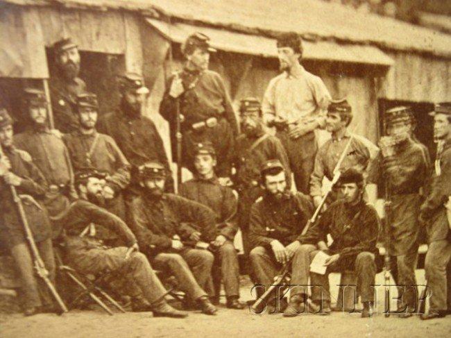23: (Civil War, Union, Photographs), Collection of appr