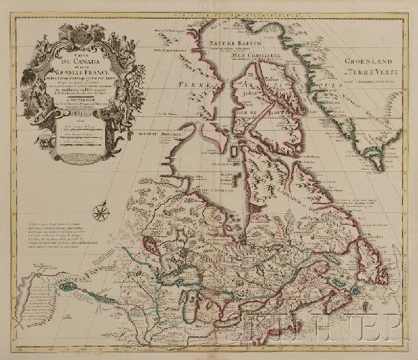 671: (Maps and Charts, North America), Delisle, Guillau