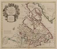 671: (Maps and Charts, North America), Delisle, Guillau