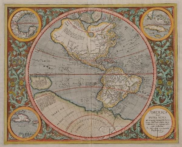682: (Maps and Charts, Western Hemisphere), Mercator, M