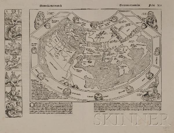 684: (Maps and Charts, World Projection, 15th Century),