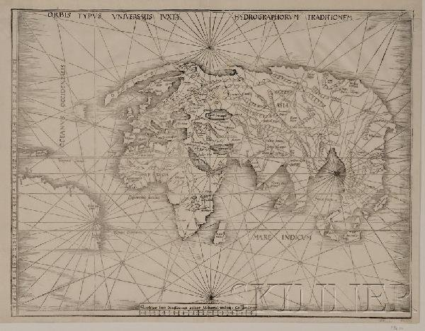 685: (Maps and Charts, World Projection, 16th Century),