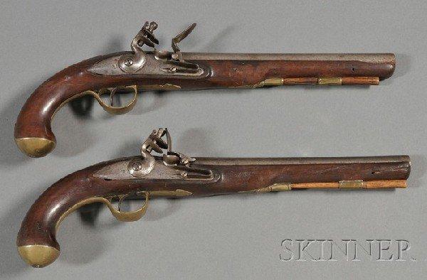 2: Pair of Revolutionary War Pistols, Ketland & Co., Lo