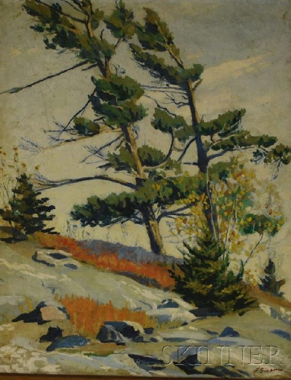 17: Frederick Rhodes Sisson (American, 1893-1962) Early
