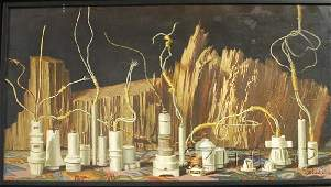 210: Paul Gorka (American, b. 1931) Still Life with Soc