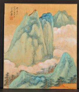 1360: Modern Painting, Zhang Daqian (1899-1983), colors