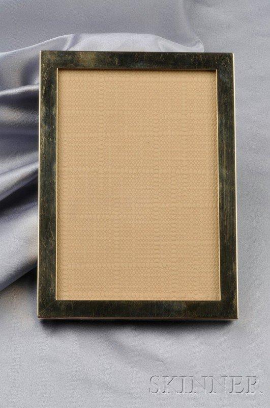 11: 14kt Gold Picture Frame, Cartier, 29.0 dwt, 3 7/8 x