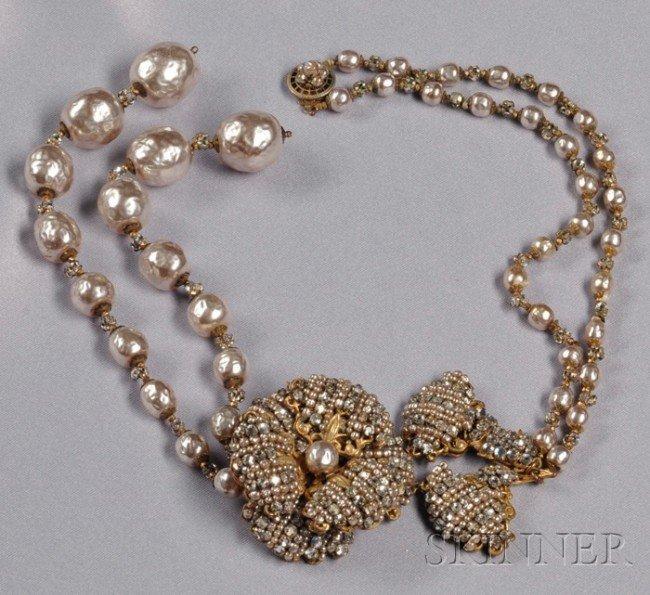 "24: Vintage ""Edwardian Revival"" Tassel Necklace, Miriam"