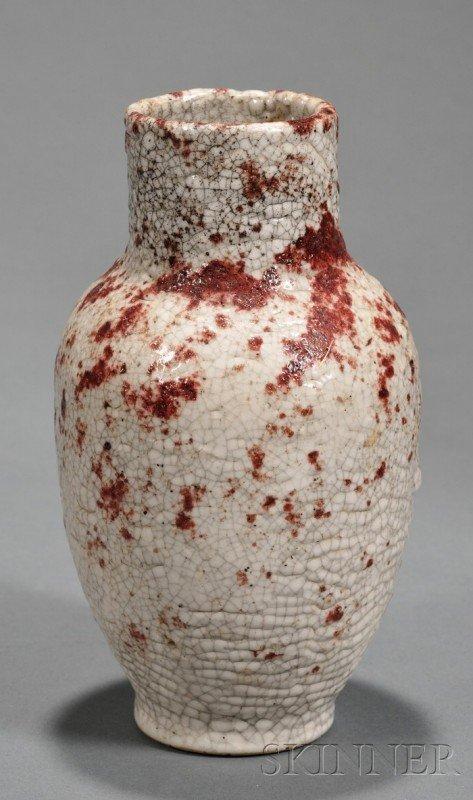 2: Chelsea Keramic Art Works Vase Experimental glazed e