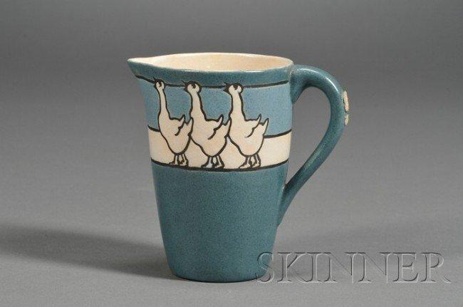 21: Saturday Evening Girls Pottery Child's Milk Pitcher