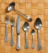 Georg Jensen Silver Flatware and Serving Pieces St
