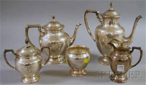 30: Fisher Five-piece Sterling Silver Coffee/Tea Servic