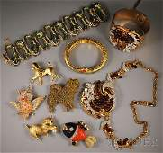 246: Small Group of Vintage Costume Jewelry, including