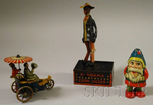 1146: Group of Early Tin Toys, a lithographed tin Lehma