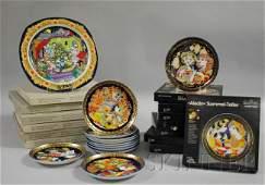 1683 Three Sets of RosenthalBjorn Wiinblad Porcelain