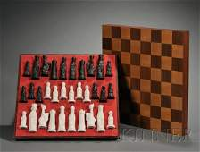 500 Wedgwood Jasper Arnold Machin Designed Chess Set