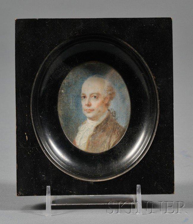 511: (Manner of Friedrich Fueger), Portrait Miniature o