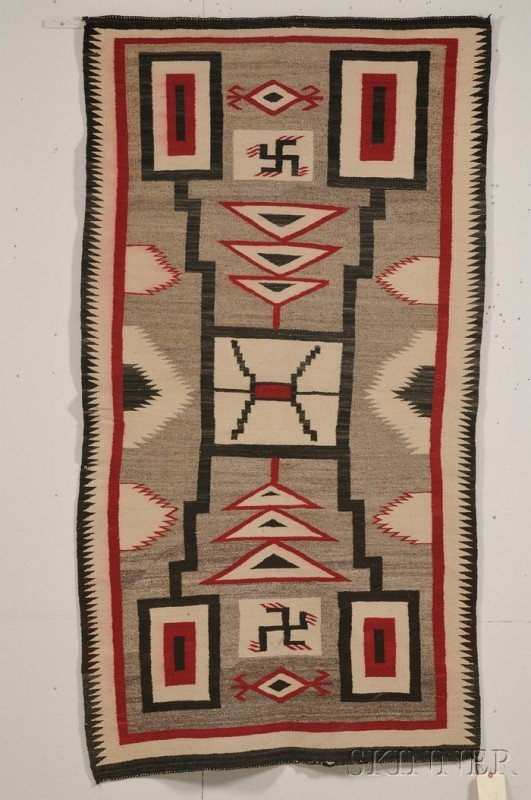 537: Southwest Regional Weaving, Navajo, c. first quart
