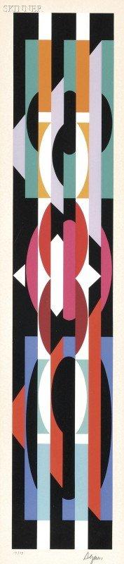 1: Yaacov Agam (Israeli, b. 1928) Untitled, edition of