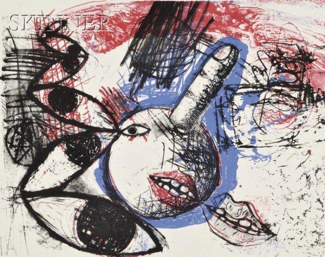 9: Howard Ben Tré (American, b. 1949), Leslie Bostrom (