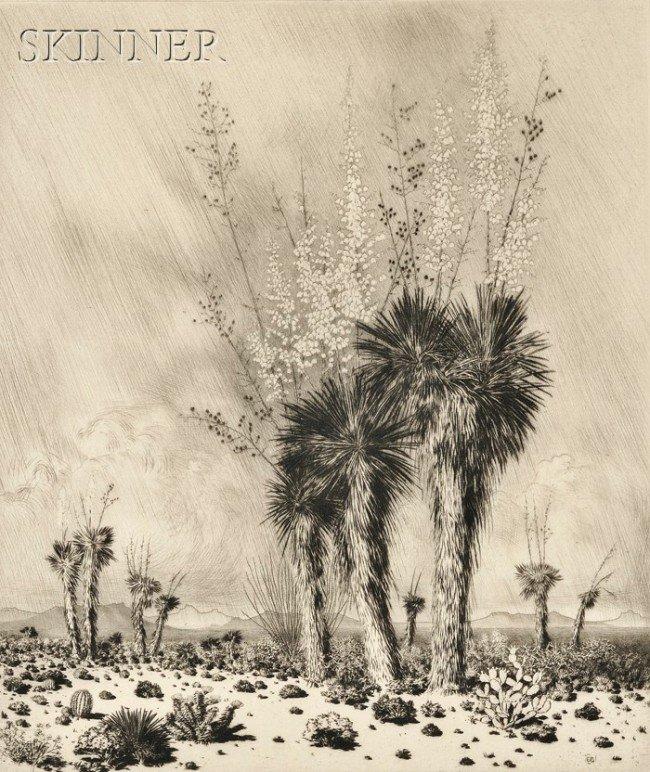 11: George Elbert Burr (American, 1859-1939) Springtime