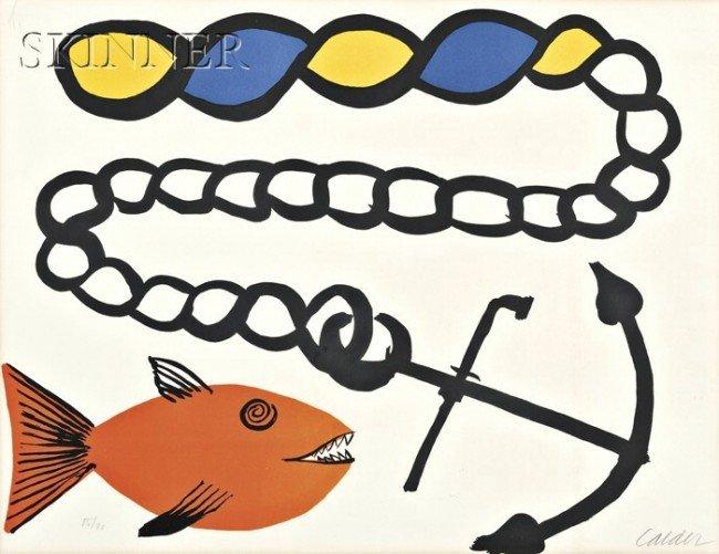 13: Alexander Calder (American, 1898-1976) Poisson pas