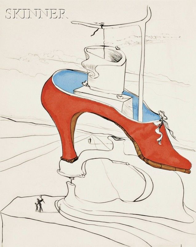 23: Salvador Dalí (Spanish, 1904-1989) AFTER 50 YEARS O