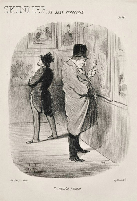 24: Honoré Daumier (French, 1808-1879) Lot of Three Ima