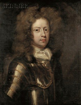 School Of Godfrey Kneller (British, 1646-1723) Por