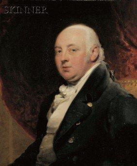 British School, 18th/19th Century Portrait Of A G