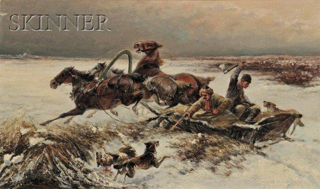 241: C. Pjotr Stowjanow (Bulgarian/Russian, 1857-1957)