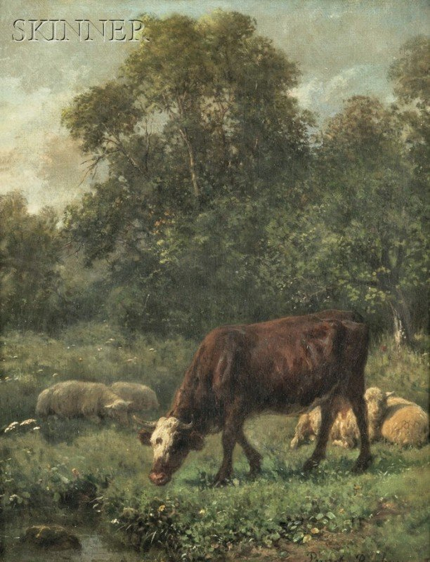 244: Juliette Peyrol Bonheur (French, 1830-1891) Pastor