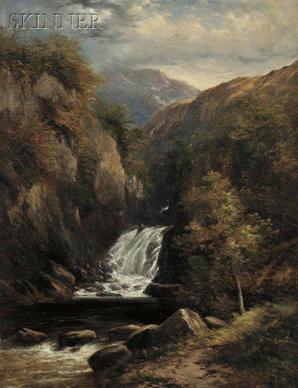 247: Adam Barland (British, fl. 1843-1875) View of a Su